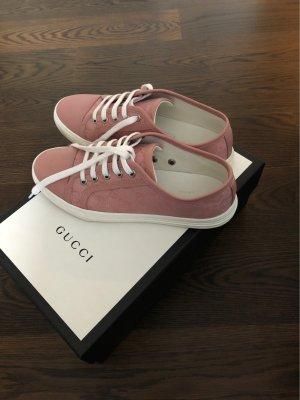 Gucci Sneaker stringata rosa antico
