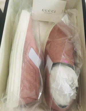 Gucci Sneaker slip-on color oro rosa