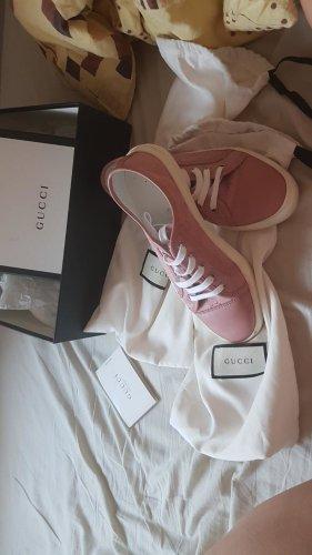 Gucci Sneaker stringata rosa pallido
