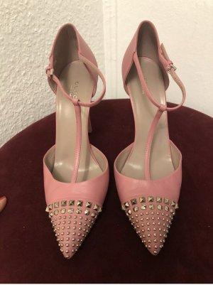 Gucci Schuhe Sandalen GR.39 Rosa