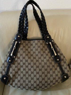 Gucci Torba na ramię ciemnobrązowy-jasnobrązowy