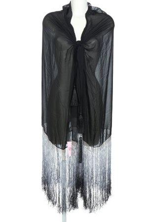 Gucci Schoudersjaal zwart elegant