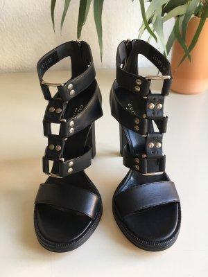 GUCCI schwarze High Heel Sandaletten Mira NEU