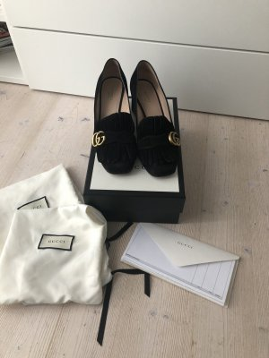 Gucci Backless Pumps black