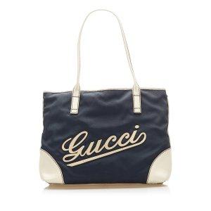 Gucci Sac fourre-tout noir nylon