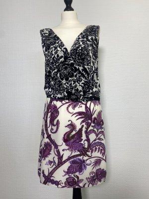 Gucci Robe d'été multicolore soie