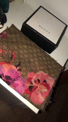 Gucci Écharpe en soie multicolore
