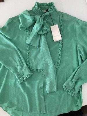 Gucci Silk Blouse green
