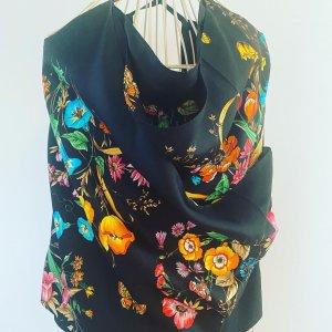 Gucci Haut en crochet noir-rouge