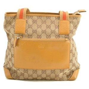 Gucci Sac fourre-tout beige fibre textile