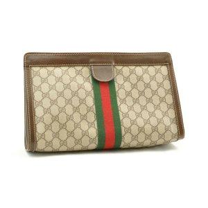 Gucci Tas bruin Textielvezel