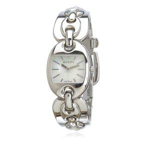 Gucci Horloge zilver Edelstaal