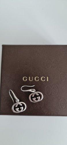 Gucci Boucles d'oreilles en argent argenté