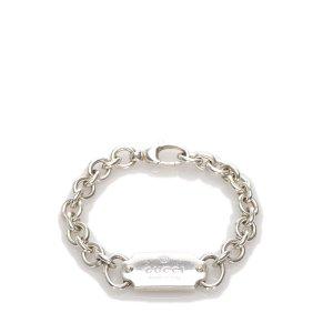 Gucci Silver-Tone Chain Bracelet