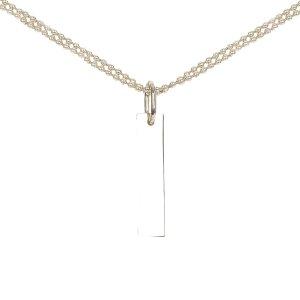 Gucci Collar color plata metal