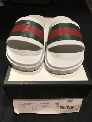 Gucci Beach Sandals multicolored