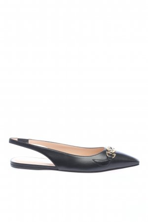 "Gucci Slingback Ballerinas ""Low Slingback Strap Pumps"" black"