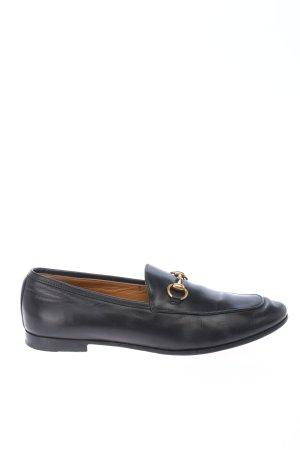 Gucci Pantofel czarny W stylu casual