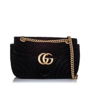Gucci Crossbody bag black synthetic fibre