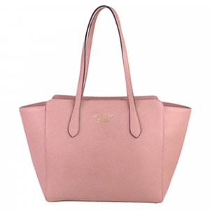 Gucci Tote pink leather