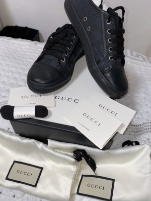 Gucci Platform Trainers black