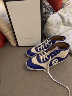 Gucci Sneakers met veters blauw