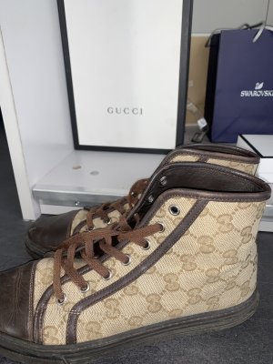 Gucci Sneaker alta bronzo