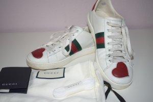 Gucci Chaussures à lacets multicolore