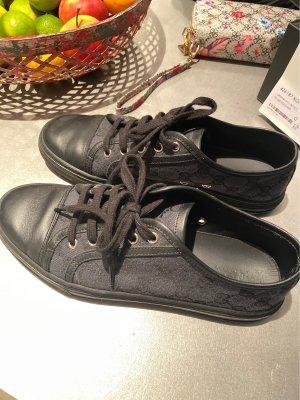 Gucci Sneakers met veters zwart-donkergrijs