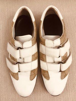 Gucci Trampki na rzepy biały-beżowy