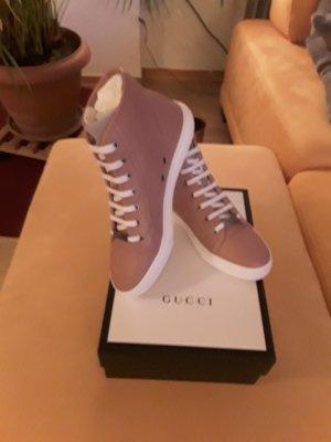 Gucci Zapatilla brogue rosa empolvado-rosa