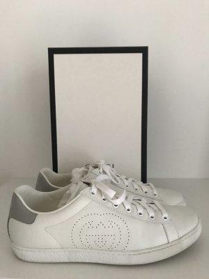 Gucci Sneaker New Ace GG, Leder, Größe 40