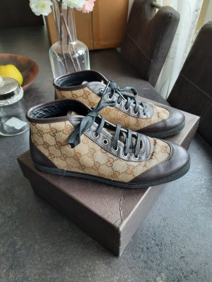 Gucci High Top Sneaker sand brown-brown