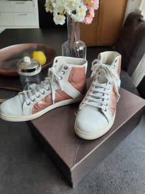Gucci Sneaker weiß rosegold