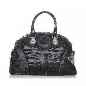 Gucci Snow Glam Leather Handbag