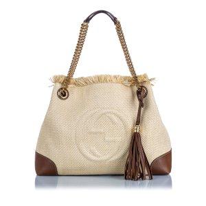 Gucci Soho Canvas Shoulder Bag