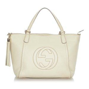 Gucci Soho Cellarius Leather Handbag