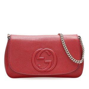 Gucci Soho Chain Leather Crossbody Bag
