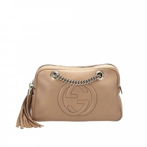 Gucci Soho Chain Leather Shoulder Bag