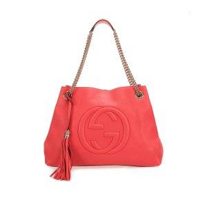 Gucci Soho Chain Leather Shoulder Bag