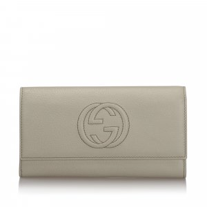Gucci Soho Continental Leather Wallet