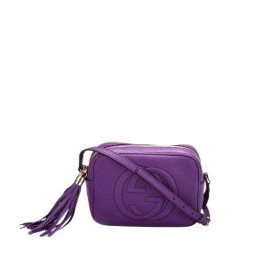 Gucci Soho Disco Leather Crossbody Bag