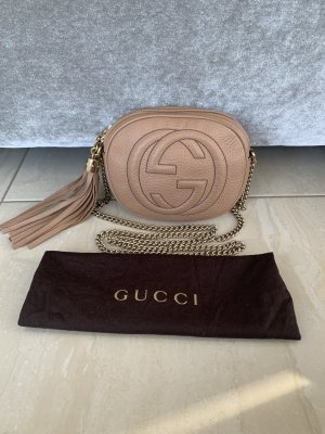 Gucci Torba na ramię beżowy-złoto