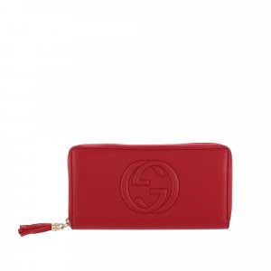Gucci Soho Leather Long Wallet