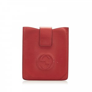 Gucci Soho Leather Tablet Case
