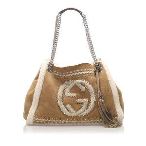 Gucci Soho Mouton Chain Shoulder Bag
