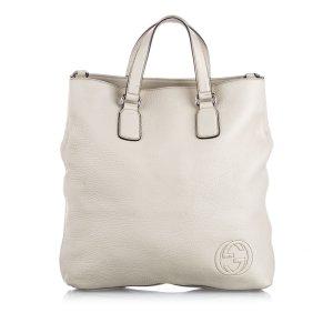 Gucci Sacoche blanc cuir