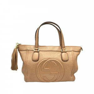 Gucci Soho Working Leather Satchel