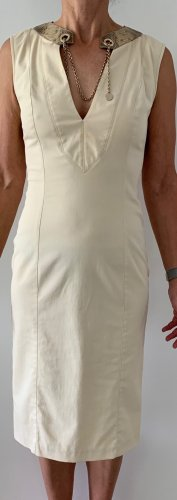 GUCCI - Sommerkleid in creme, klassisch, figurbetont