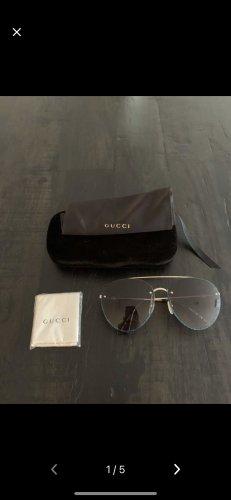 Gucci Pilotenbril antraciet-goud